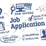 what dos a job application look like