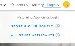 Walmart Job Application Login